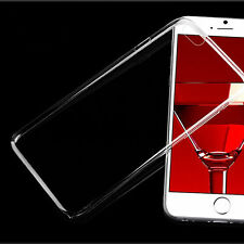 Clear Transparent Ultra Soft Back Case Cover For Apple iPhone 4S 5S 5C 6S 7 Plus