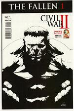 Marvel Civil War II #1 FALLEN Diamond Retailer Summit Baltimore Variant HULK