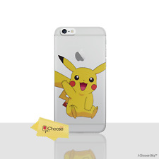 iPhone 6 Plus 6s Pokemon Silicone Case Pikachu GEL Cover for Apple 6s Screen...