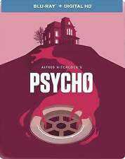 Psycho (Blu-ray/Digital, 2014, Limited Edition Steebook)Brand New