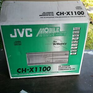 JVC 12-Disc Car CD Changer System Model CH-X1100