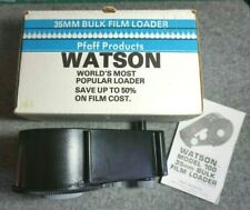 Vintage Original Watson 35Mm Bulk Film Loader In Box With Instructions Usa Made