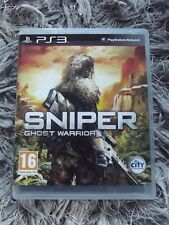 PS3 GAME - SNIPER GHOST WARRIOR complete with manual