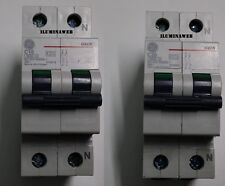 Automatico Interruptor Magnetotermico Polo+Neutro 10A 20A G61N GENERAL ELECTRIC
