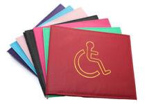 GENUINE Disabled Badge Holder Safe Parking Permit Display Cover Wallet UK SELLER