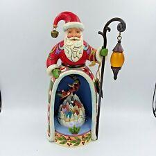 Jim Shore Santa Christmas Magic Is All Around Lighted 4037597 P275