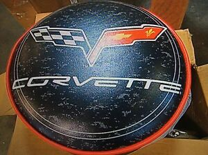 Chevrolet Corvette c6 Padded Swivel Barstool- New