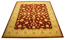 Real Rug Brick Manufacture 308x248 CM 100% Wool Hand Knotted Red