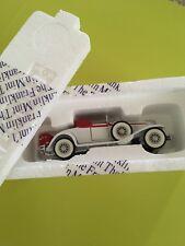 Franklin Mint Precision Models 1991:1931 CORD L 29 CABRIOLET (White) 1:43 scale