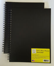 ARTIST'S CHOICE SKETCH BOOKS (2 Pack) 9 x 12  Poly Cover  75# Paper  140 Sheets