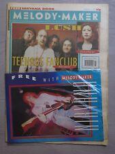 MELODY MAKER 15th February 1992 ~ Nirvana (book) ~ Teenage Fanclub ~ Ride!