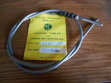 NOS MC Brand Honda CS90 S90 S65 CM91 Front Brake Cable Grey 45450-028-000 Japan