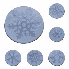 Snowflake Christmas DIY Silicone Mold Resin Craft Jewelry Casting Molds Decors
