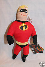 "NEW WITH TAGS 9"" DISNEY PIXAR 2004 THE INCREDIBLES DASH  WINDOW CLING PLUSH"