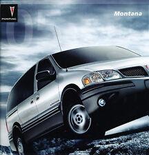 2005 Pontiac Montana Van Original Sales Brochure