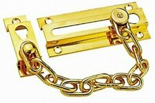 Brass Plated 1600 BX  Parker Chain Door Guard Security Lock