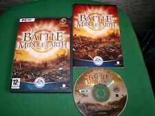 ORIGINAL LORD OF THE RINGS THE BATTLE FOR MIDDLE EARTH PC-DVD FAST POST COMPLETE