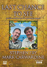LAST CHANCE TO SEE BBC IN THE FOOTSTEPS OF DOUGLAS ADAMS STEPHEN FRY NEW/SEALED