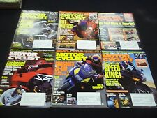 1995 MOTOR CYCLIST MAGAZINE LOT OF 12 ISSUES - GREAT BIKES NICE COVERS - M 236
