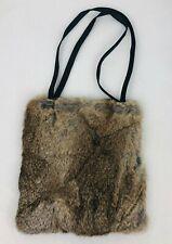 New w/ Tags Arden B Rabbit Fur Purse Shoulder Hand Bag