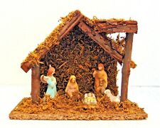 Gift Collection Hand Crafted Nativity 6 Pc Set Christmas