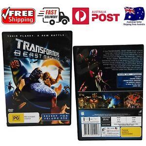 TRANSFORMERS  BEAST MACHINES Season 2 Vol1 DVD 4 Frank Welker -As new -Free Post