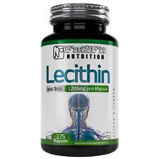 Lecithin 175 Kapseln je 1200mg  Körperliche Leistungsfähigkeit Fat2Fit Nutrition