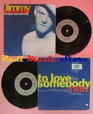 LP 45 7'' JIMMY SOMERVILLE To love somebody Rain 1980 france LONDON*no cd mc dvd