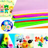 200x 40 Colors Felt Sheets DIY Craft Supplies Polyester Wool Blend Fabric 3Sizes