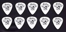 Lot of 10 Metallica Winged Wheel Since 1981 White Guitar Picks - 2004 Tour