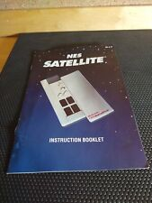 Satellite Manual only NES Nintendo