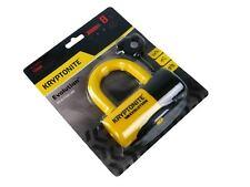 Kryptonite Evolution Series 4 Disc Locks 720018999614 Yellow LED Key Light