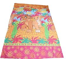 Disney The Lion KIng Simba's Pride Single Bed Quilt Cover Rare Vintage 90's