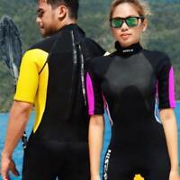 3mm Unisex Wetsuit Neoprene Scuba Dive Short Diving Equipment Cool Split Suits