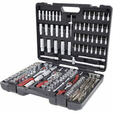 """KS Tools 1/4"""" + 3/8"""" + 1/2"""" Steckschlüssel-Satz, 195-tlg."""