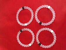 4 Pcs Medium dead sea mud Lokai Bracelet