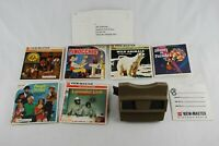 Vintage Viewmaster Reels Packets Booklets Lot Pinocchio Disney On Parade Animals