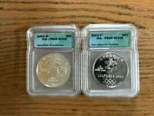 2002 Salt Lake City Olympics and West Point Bicentennial Commemorative Coins