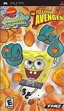 SpongeBob SquarePants The Yellow Avenger (Sony PSP) Complete. Case is lil chewed