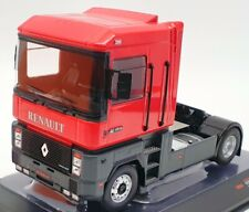 IXO Models 1/43 Scale Model Truck TR066 - 1992 Renault Magnum AE 420 Ti - Red