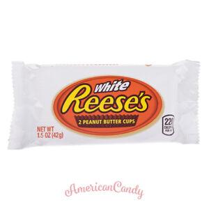USA:  20x Reese's Peanut Butter Cups White Erdnussbutter  (28,55€/kg)