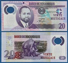Mozambique/mocambique 20 de Metlcais 2011 UNC polímero p. 149 a