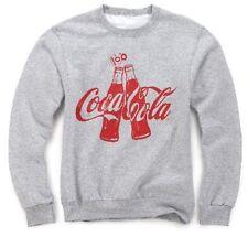 COCA COLA COKE 100 YEAR CONTOUR BOTTLE ANNIVERSARY SWEATSHIRT 2XL  NEW!!