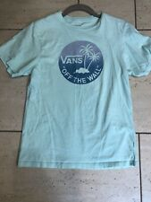 Boys Youth VANS T shirt Size Large