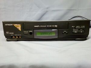 Hitachi F540E Video+ Dynamic Picture EQ VHS. Fully Tested & PAT Tested