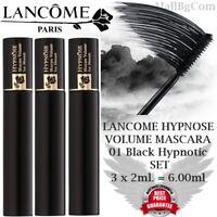 💎 Lancome Hypnose Volume Mascara Wimperntusche 01 Noir Hypnotic SET 3x2ml = 6ml