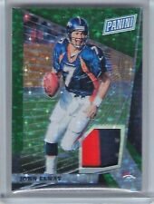 2018 Panini National VIP Gold John Elway Green Sparkle Refractor Jersey /25 SP