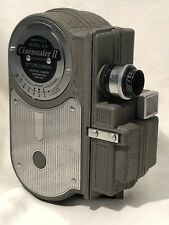 CINEMASTER II MODEL G-8 8mm Cine Universal Camera