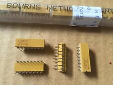 250 Piezas 4116R-001-100 Bourns Redes de resistencia 10 OHMIO 16 pines 2%