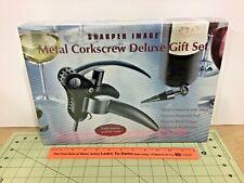 New listing Sharper Image Metal Corkscrew Deluxe Gift Set! Sealed!